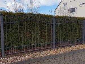 clôture fer forgé
