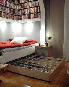 lit coffre de rangement
